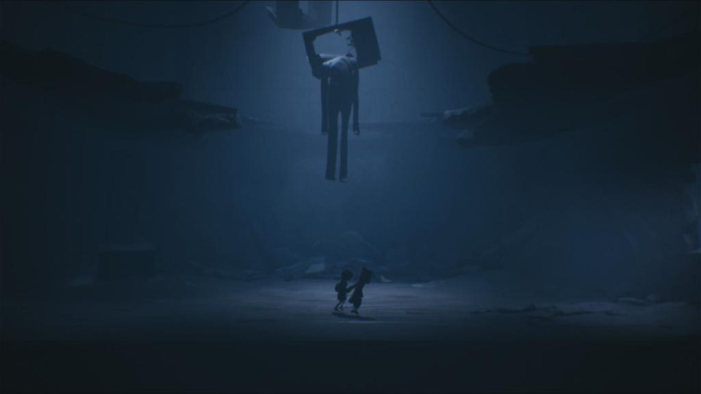 A trama de Little Nightmares 2 envolve escapismo e tudo gira em torno do sinal de televisão. (Imagem: Reprodução/Switch)
