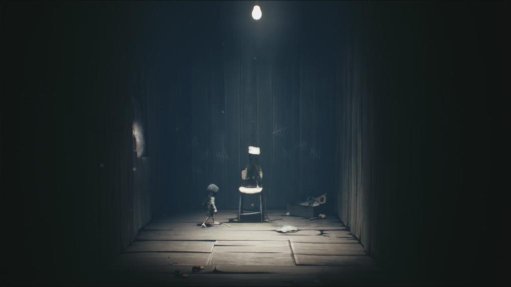 Little Nightmares 2 conta com bela cinematografia para seus visuais sombrios e clima de horror. (Imagem: Reprodução/Switch)
