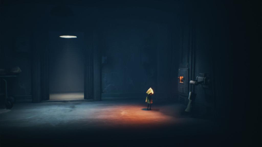 Em Little Nightmares 2, as desventuras horripilantes fazem com que você acabe passeando até em um incinerador de cadáveres. (Imagem: Reprodução/Switch)
