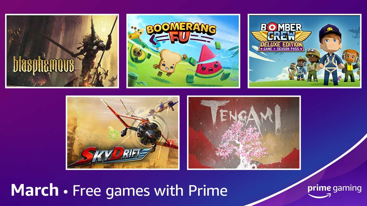 Jogos: Prime Gaming anuncia jogos grátis e novidades de março