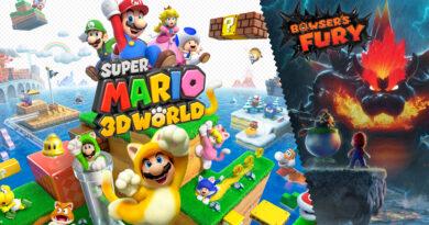 Super Mario 3D World + Bowser's Fury é o relançamento mais recente de um jogo de Wii U e traz conteúdo adicional inédito (Bowser's Fury). (Imagem: Divulgação/Nintendo)