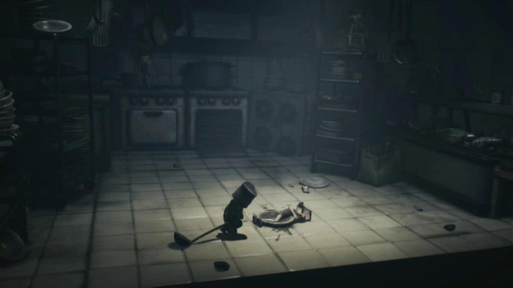 Mono sente o peso das armas e por isso você precisa se antecipar durante o combate. (Imagem: Reprodução/Switch)