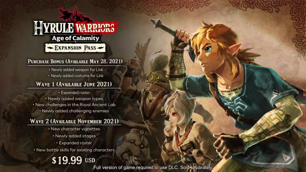 Além do conteúdo adicional, compradores receberão itens bônus no jogo ainda maio. (Imagem: Divulgação/Nintendo)