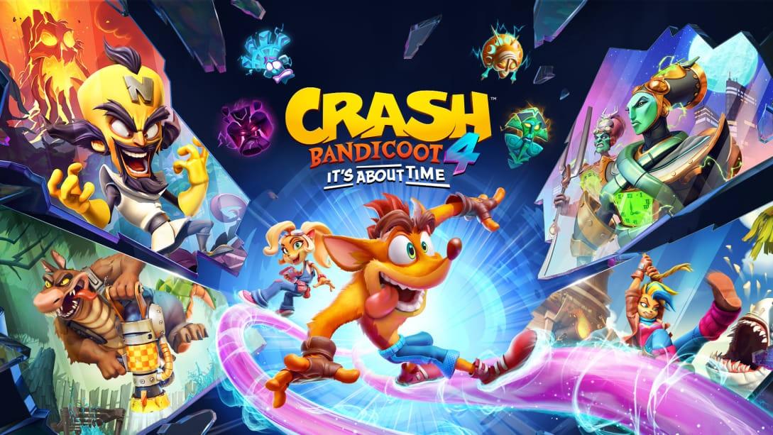 Jogos: Crash Bandicoot 4 é lançado para PS5, XBX e Switch