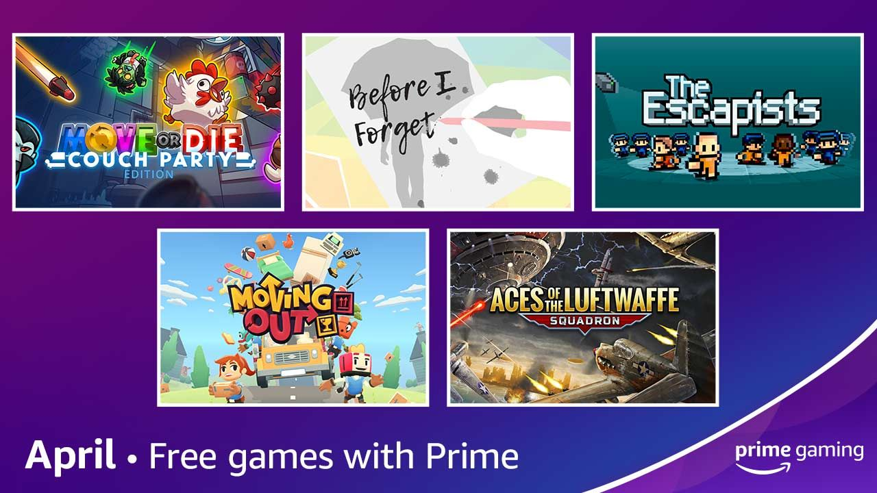 Jogos: Prime Gaming anuncia jogos grátis e novidades de abril