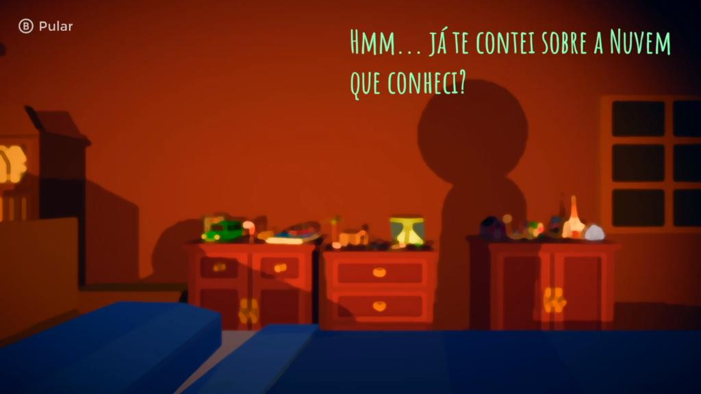 Rain on Your Parade, ao contrário de Untitled Goose Game, tem um enredo para justificar as ações no jogo. (Imagem: Reprodução/Nintendo Switch)