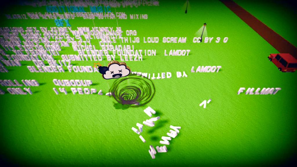 Cause confusão até nos créditos. Observe o excesso de filtros aplicados ao utilizar habilidades. (Imagem: Reprodução/Nintendo Switch)