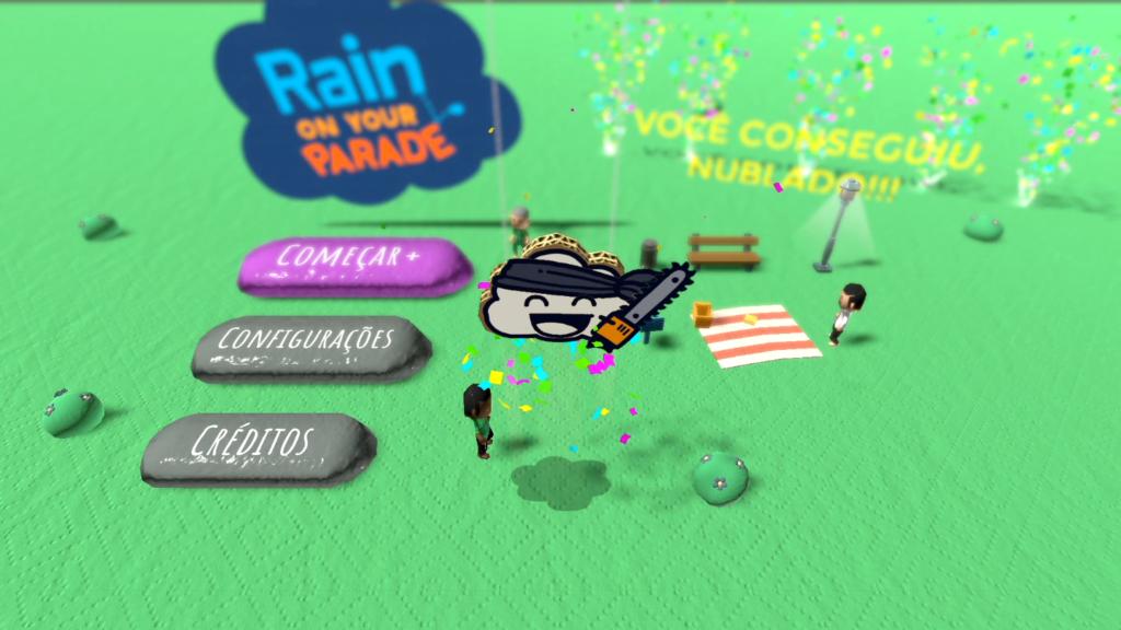 Rain on Your Parade é uma pequena homenagem à cidade quase sempre nublada de Seattle. (Imagem: Reprodução/Nintendo Switch)