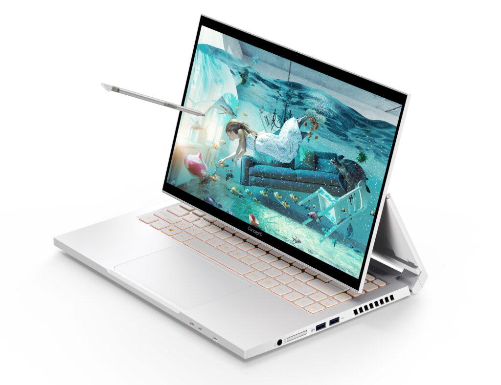 O ConceptD 3 oferece uma variedade de configurações de GPU para atender às necessidades do usuário. (Imagem: Divulgação/Acer)