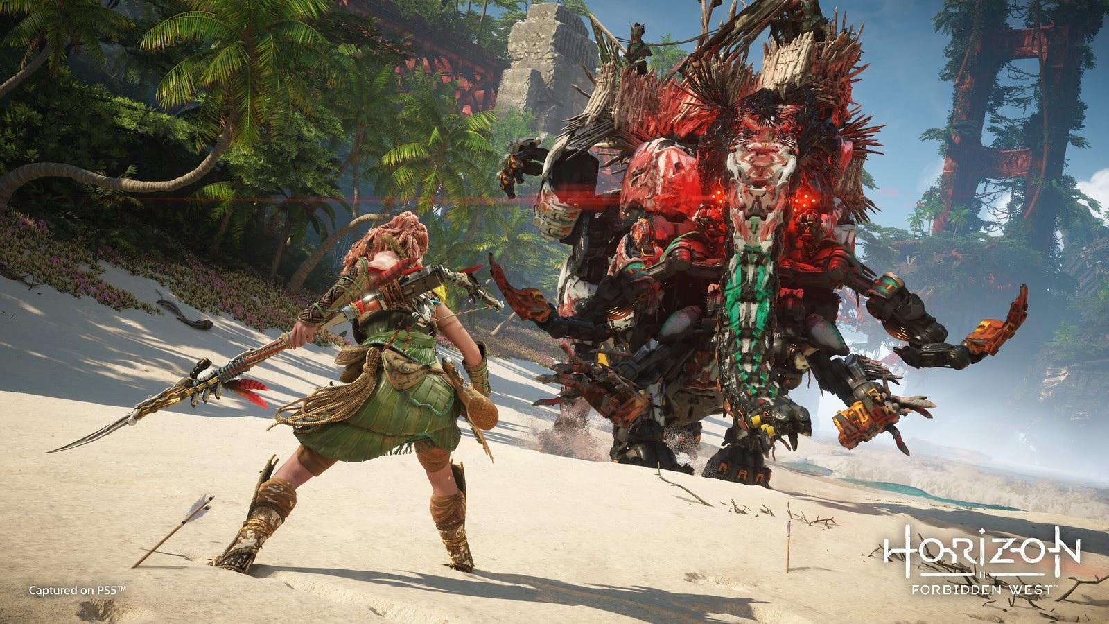 Jogos: Horizon Forbidden West é adiado para fevereiro de 2022