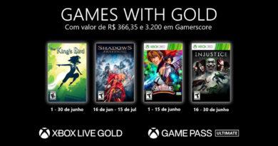 Games with Gold de junho: convenhamos, alguns títulos um pouco obscuros. (Imagem: Divulgação/Microsoft)