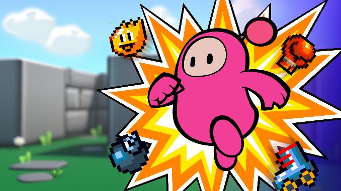 super bomberman fall guys bean bomber