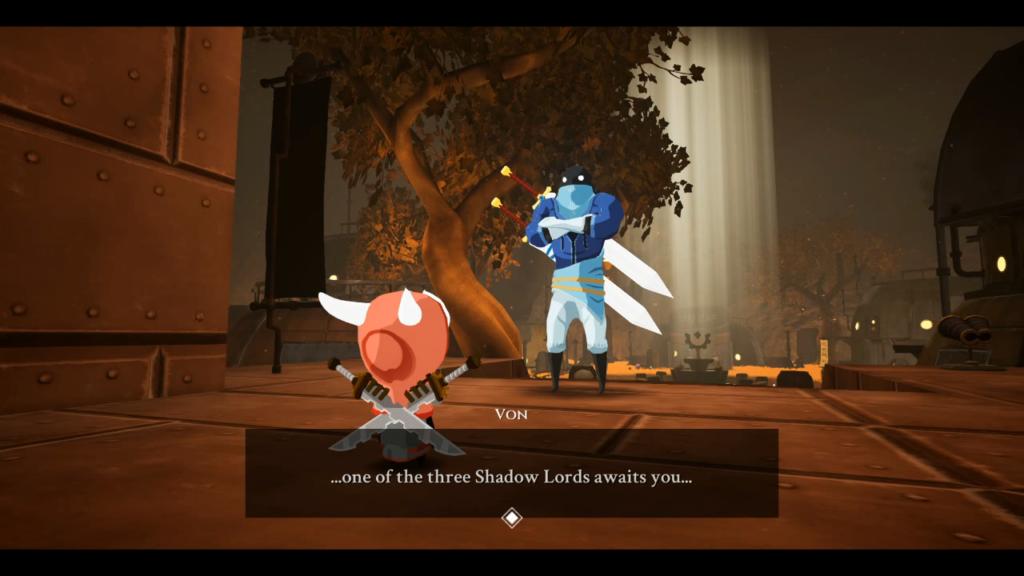 A história é complementar, mas isso significa a dose certa para o estilo do jogo. (Imagem: Reprodução/Nintendo Switch)