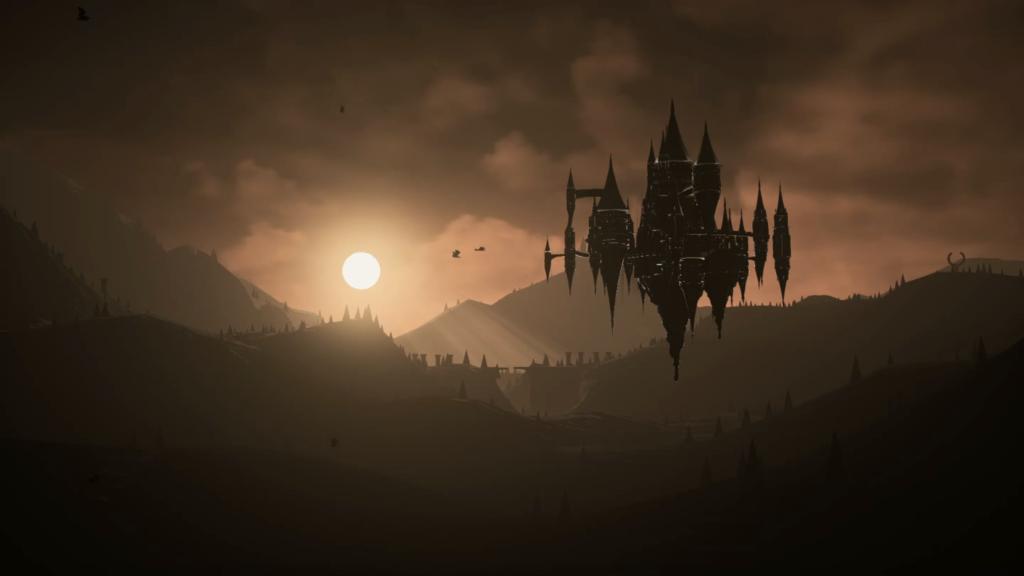 Penumbra, um lugar criador pelos deuses para preservar o mundo. (Imagem: Reprodução/Nintendo Switch)