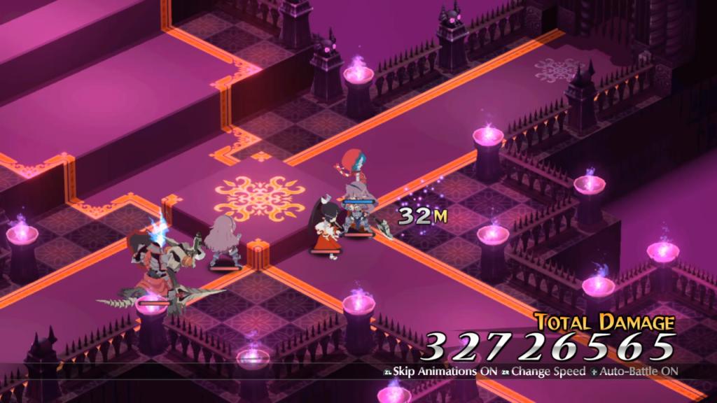 Cause dano em números gigantescos ao combinar ataques consecutivos. (Imagem: Reprodução/Nintendo Switch)