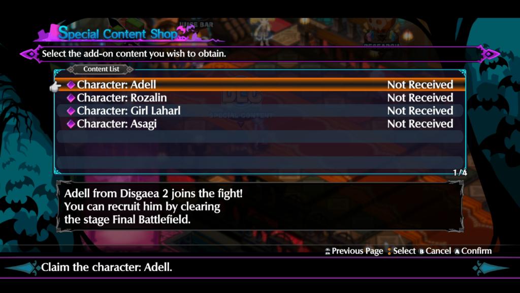 O jogo conta com personagens de conteúdo adicional gratuito no lançamento. (Imagem: Reprodução/Nintendo Switch)