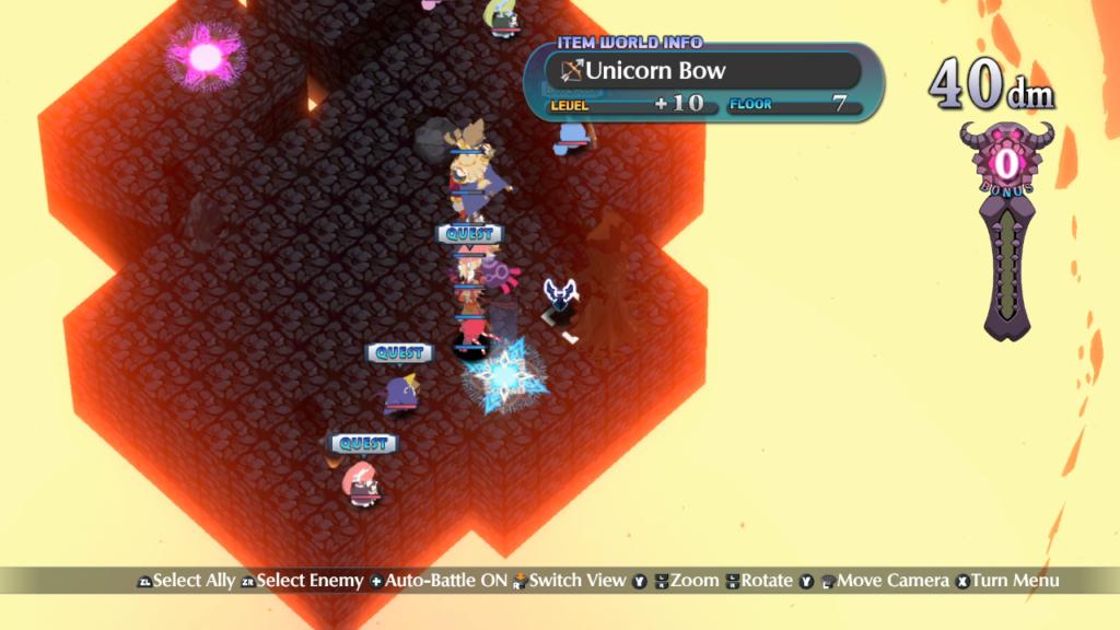Uma forma de atravessar o campo rapidamente é levantando e arremessando nossos personagens. (Imagem: Reprodução/Nintendo Switch)