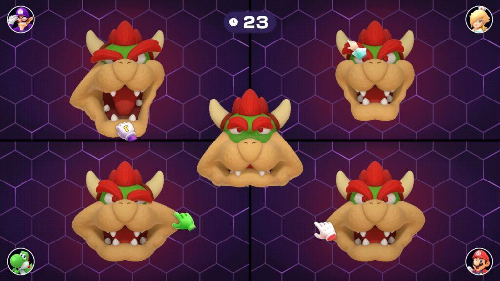 Face Lift está em Mario Party Superstars e era um dos meus favoritos, assim como Bumper Balls. (Imagem: Divulgação/Nintendo)