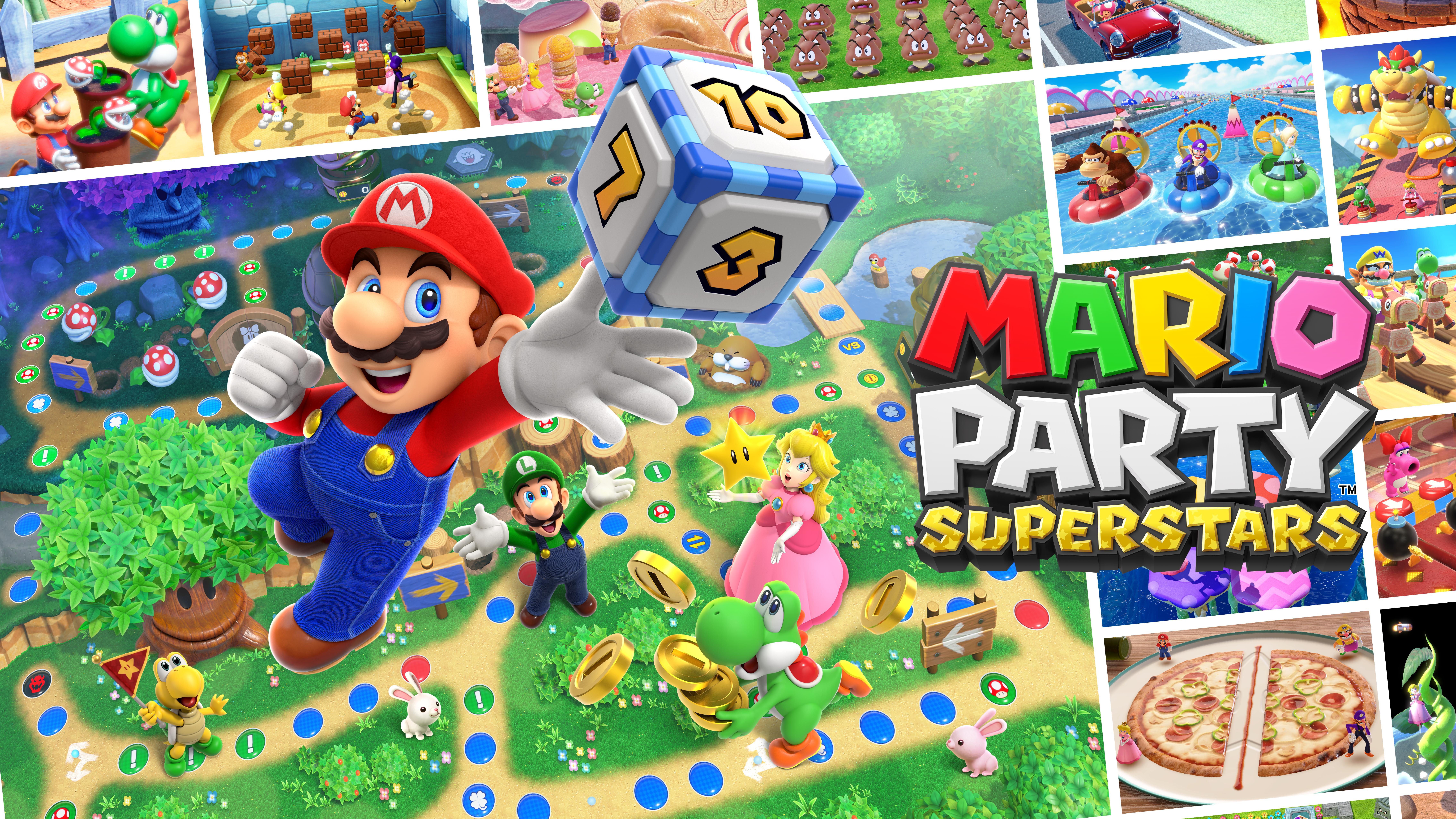 Switch MarioPartySuperstars artwork 03 Mario Party Superstars