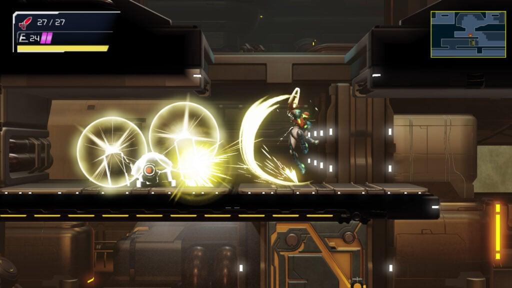 Metroid Dread, da mesma desenvolvedora do remake Samus Returns, será lançado em outubro. (Imagem: Divulgação/Nintendo)