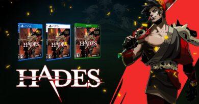 Edição física de Hades virá em encartes diferentes para PlayStation 4 e PlayStation 5. Xbox One e Xbox Series X|S usarão o mesmo disco. (Imagem: Reprodução)