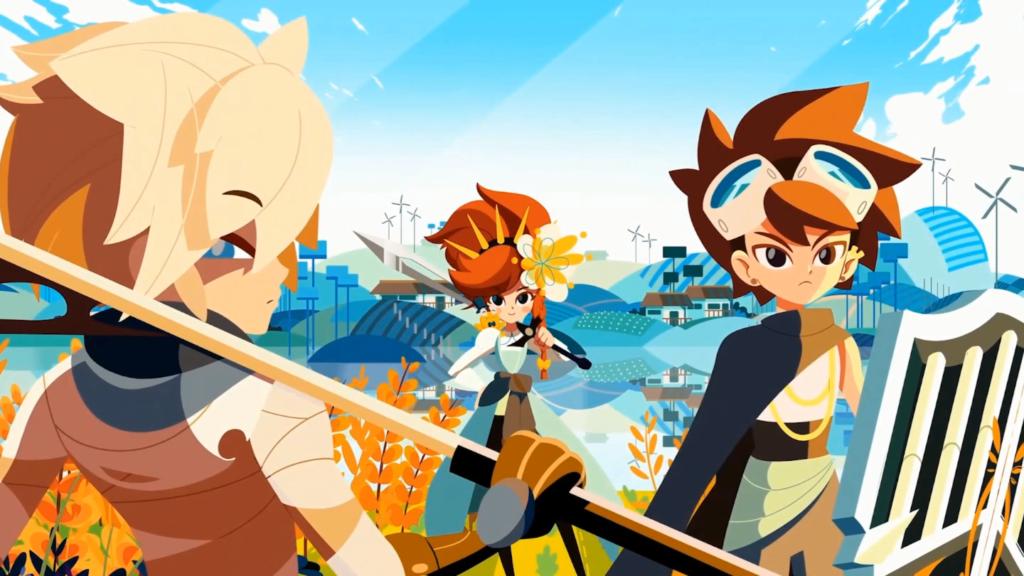 Cris Tales é um RPG independente da Colômbia com belíssimas animações. (Imagem: Reprodução/Nintendo Switch)