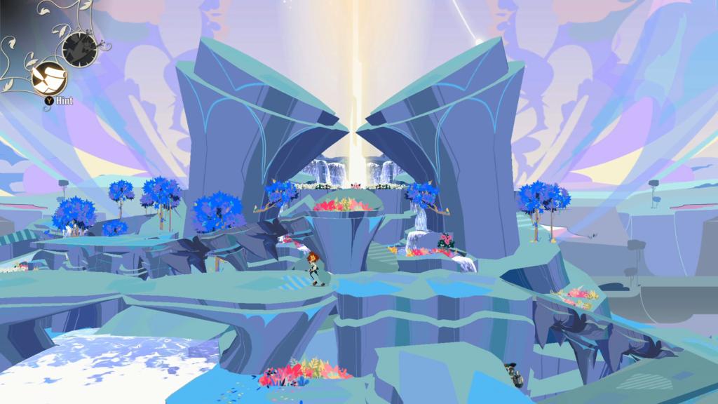 A direção de arte de Cris Tales acerta em cheio, mas as animações são lentas. (Imagem: Reprodução/Nintendo Switch)