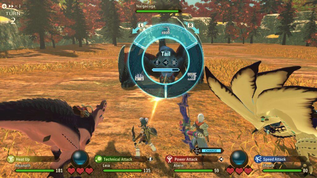 MHST2 Combat 03 bmp jpgcopy Monster Hunter Stories 2