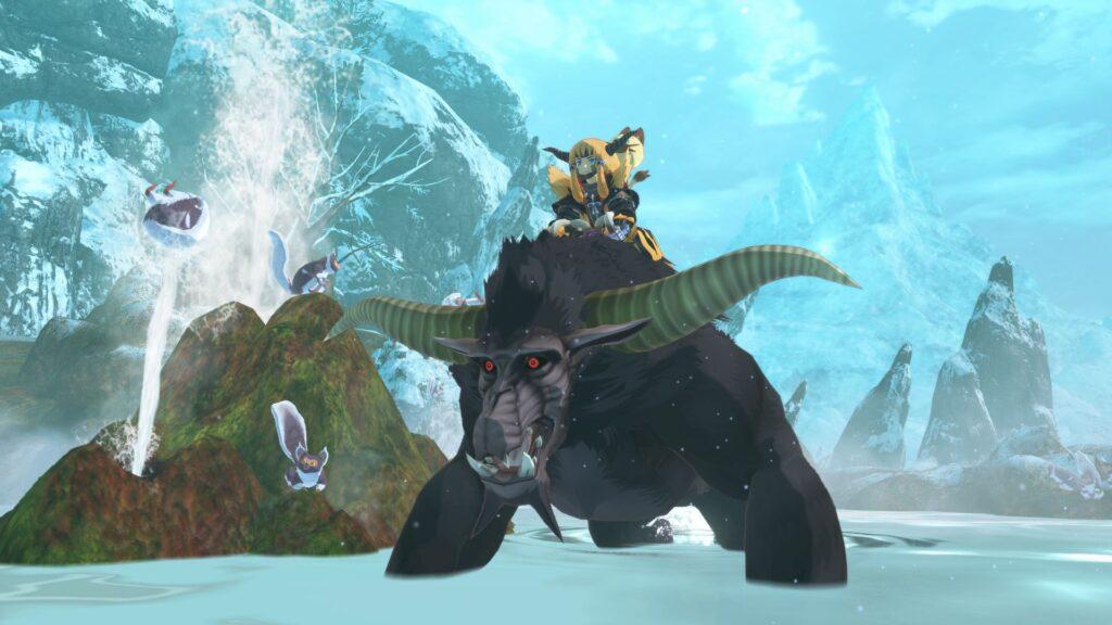 Wings of Ruin conta com quase uma centena de criaturas e dezenas de armas e armaduras. (Imagem: Divulgação/Capcom)