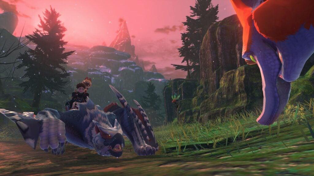 Assuma o papel de um montador de monstros em Monster Hunter Stories 2: Wings of Ruin. (Imagem: Divulgação/Capcom)