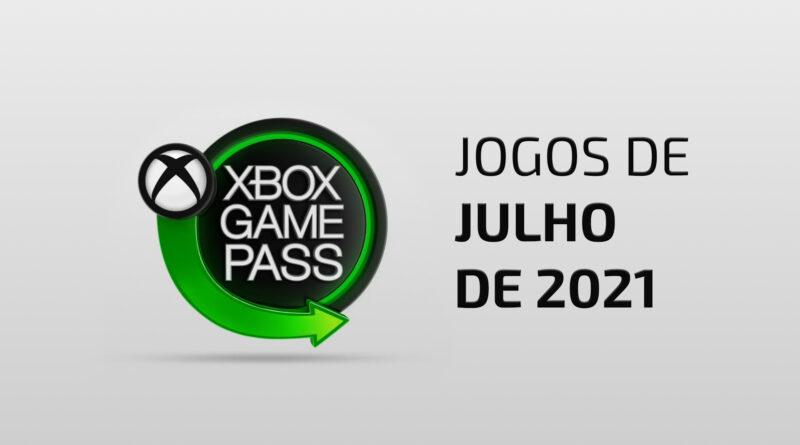 Xbox Game Pass JULHO Xbox Game Pass