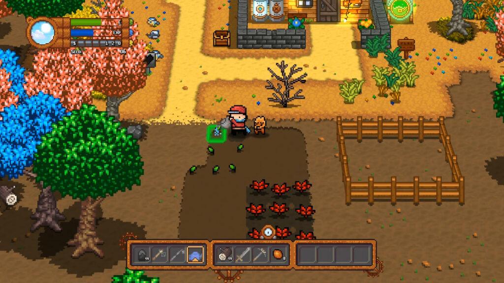 Que tipo de planimal você acha que vai ter na fazenda? (Imagem: Reprodução/Nintendo Switch)