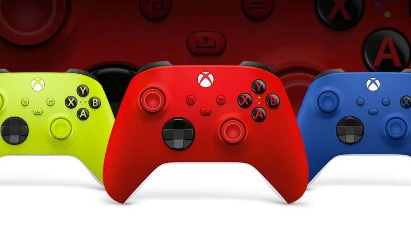 Xbox Controles Coloridos