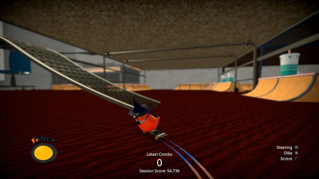 As texturas dos cenários são lavadas e extremamente repetitivas. (Imagem: Reprodução/Switch)