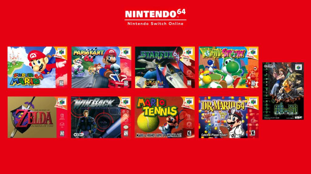 Uma das novidades no Nintendo Direct foi o anúncio de jogos de Nintendo 64 no Switch. (Imagem: Divulgação/Nintendo)