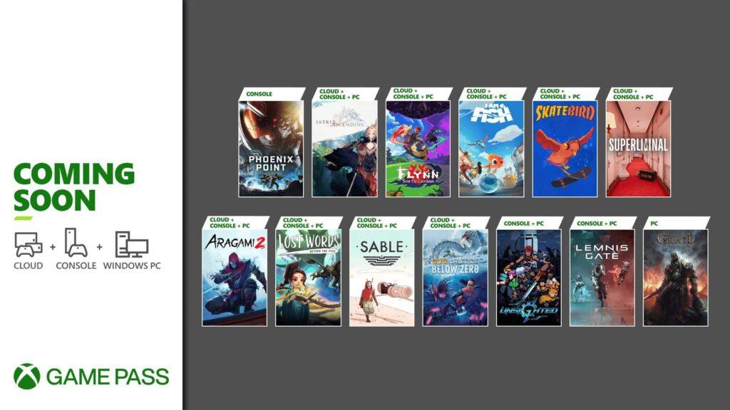 Os mais recentes jogos adicionados ao Xbox Game Pass incluem oito lançamentos. (Imagem: Divulgação/Microsoft)