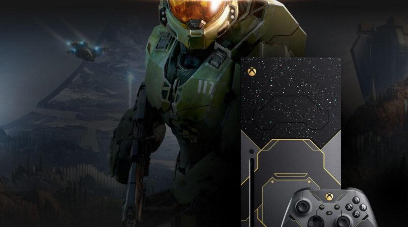 Xbox Series X Edição Especial de Halo Infinite