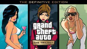 GTA: The Trilogy – The Definitive Edition recebe preço e data de lançamento